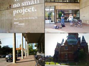 Test Start vor der Harvard University-Graduate School Of Design